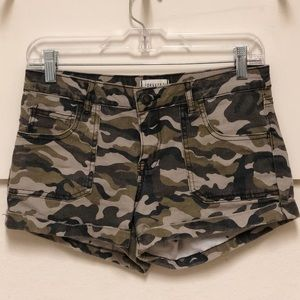 Camo shorts!!